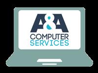 A&A Computer Services Logo
